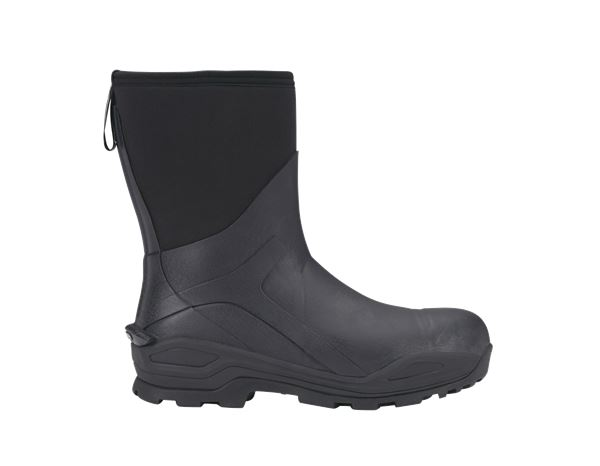 S5: e.s. S5 Neoprene safety boots Kore high + graphite/black