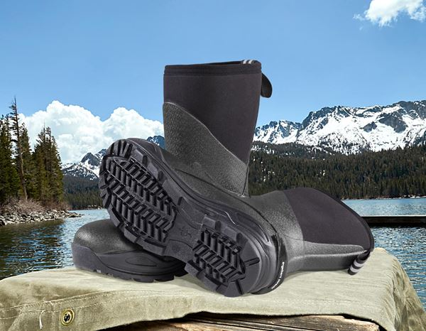 S5: e.s. S5 Neoprene safety boots Kore high + graphite/black 2