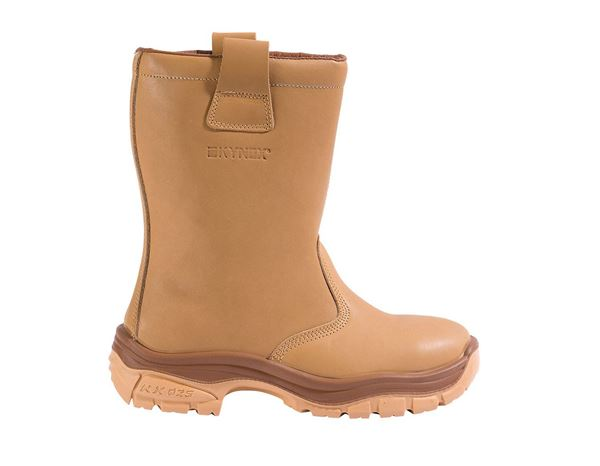 Safety Boots S3: S3 Winter safety boots + brown