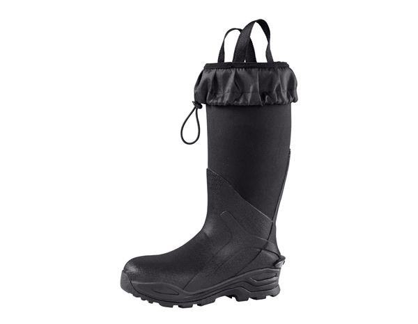 Safety Wellingtons S5: e.s. S5 Neoprene safety boots Kore x-high + graphite/black 6