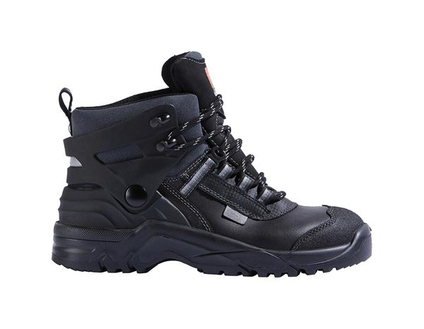 Safety Shoes S3: S3 Safety boots BIOMEX® + black/grey