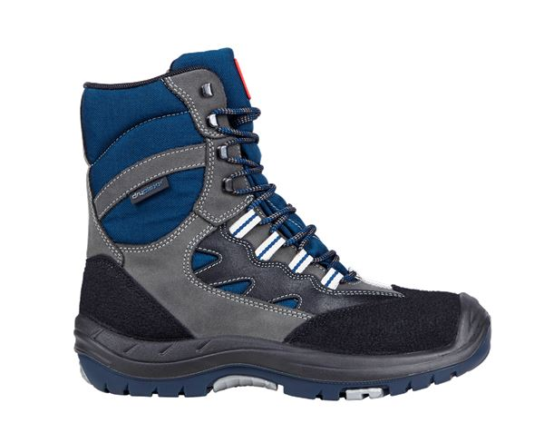 Safety Boots S3: S3 Safty boots Saalbach + grey/navy blue/black