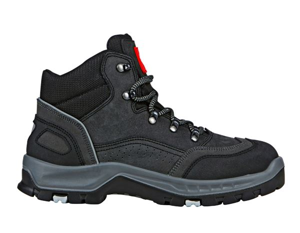 Safety Shoes S3: S3 Safety boots Storm Mid + black