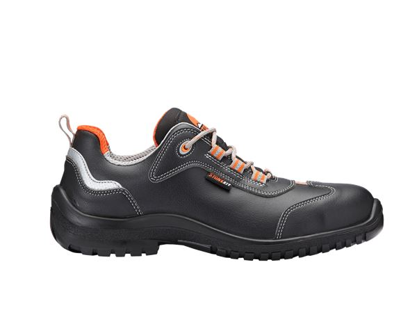 Safety Shoes S3: STONEKIT S3 Safety shoes Luke + black/orange