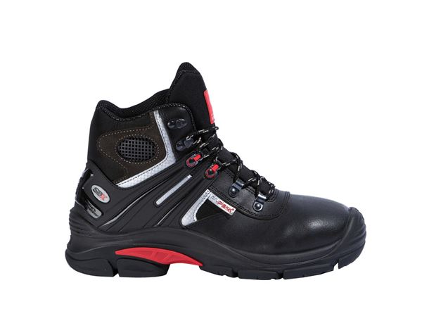 Safety Shoes S3: S3 Safety boots Salzburg + black/red