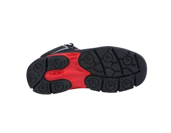 Safety Shoes S3: S3 Safety boots Salzburg + black/red 1