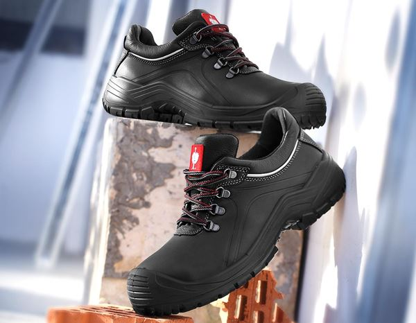 Safety Shoes S3: e.s. S3 Safety shoes Umbriel low + black 1