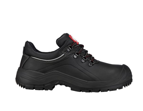Safety Shoes S3: e.s. S3 Safety shoes Umbriel low + black