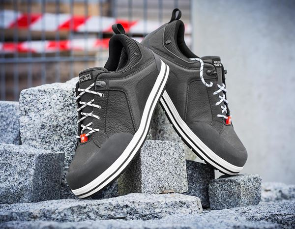 S3: e.s. S3 Safety shoes Spes low + anthracite 1