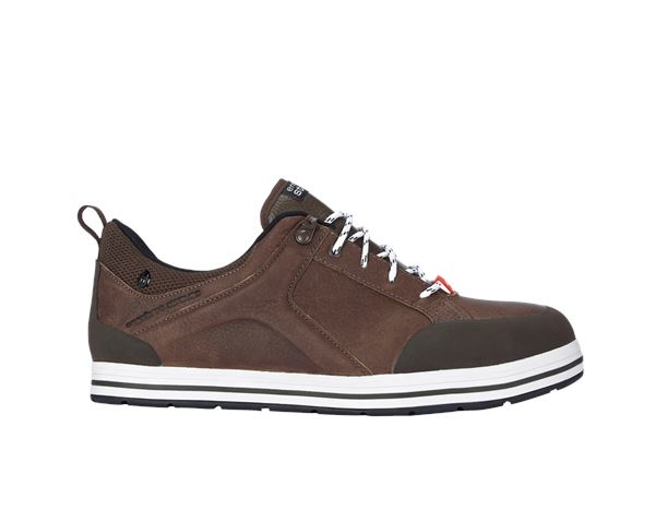 e.s. S3 Safety shoes Spes low chestnut