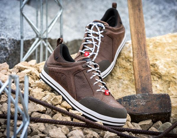 Safety Shoes S3: e.s. S3 Safety shoes Spes low + chestnut 1