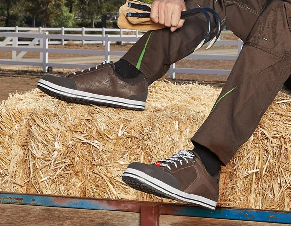 Safety Shoes S3: e.s. S3 Safety shoes Spes low + chestnut 4