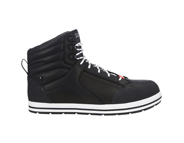 e.s. S3 Safety boots Spes mid black