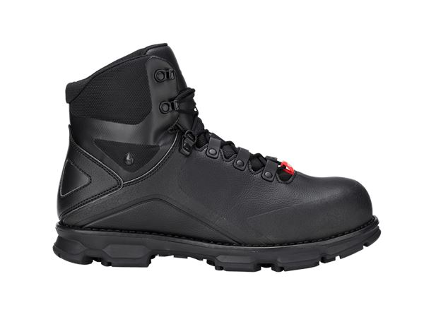 Safety Shoes S3: e.s. S3 Safety boots Nereus mid + black
