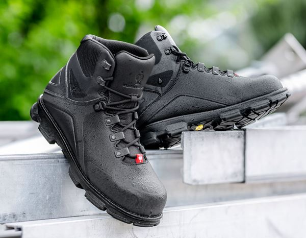 Safety Shoes S3: e.s. S3 Safety boots Nereus mid + black 1