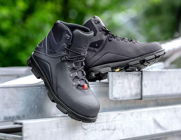 S3: e.s. S3 Safety boots Nereus mid + anthracite/black 2