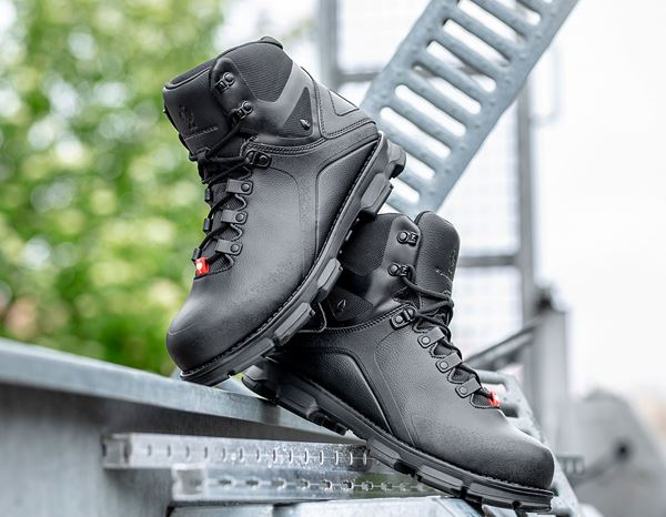 Safety Shoes S3: e.s. S3 Safety boots Nereus mid + black 2