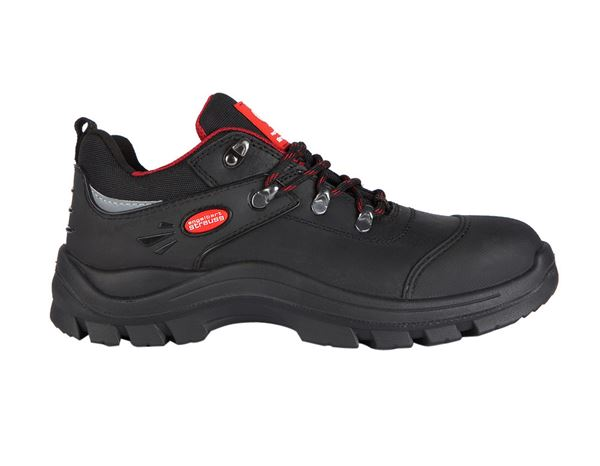 S3 Safety shoes Andrew black/red