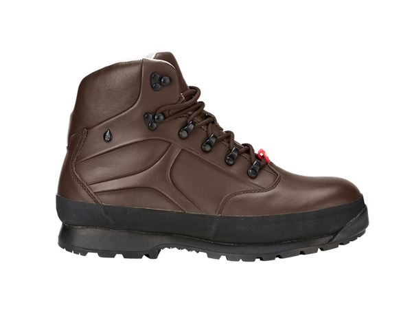 Safety Shoes S3: e.s. S3 Safety boots Tartaros mid + chestnut
