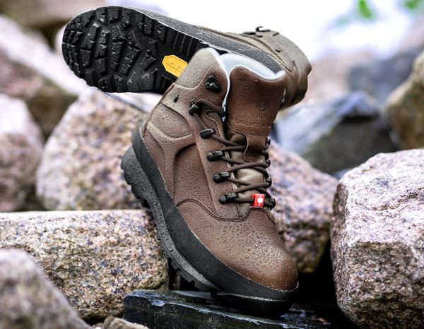 Safety Shoes S3: e.s. S3 Safety boots Tartaros mid + chestnut 1