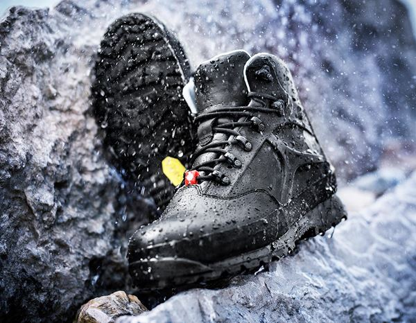 Safety Shoes S3: e.s. S3 Safety boots Tartaros mid + black 1