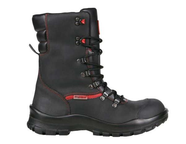 Safety Boots S3: S3 Winter safety boots Comfort12 + black/red