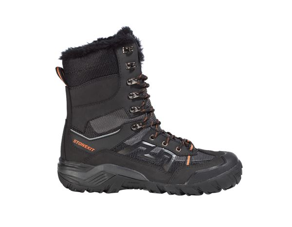 S3: STONEKIT S3 Winter safety boots Trondheim + black