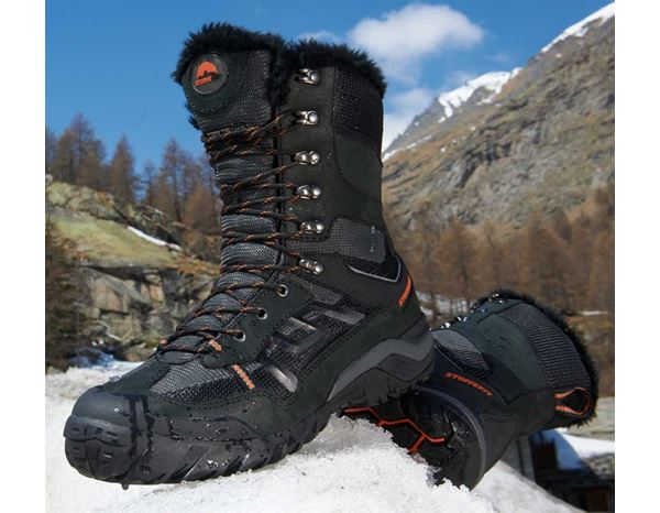 S3: STONEKIT S3 Winter safety boots Trondheim + black 1