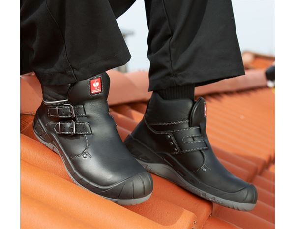 S3: S3 Roofer's Safety boots Simon + black 1