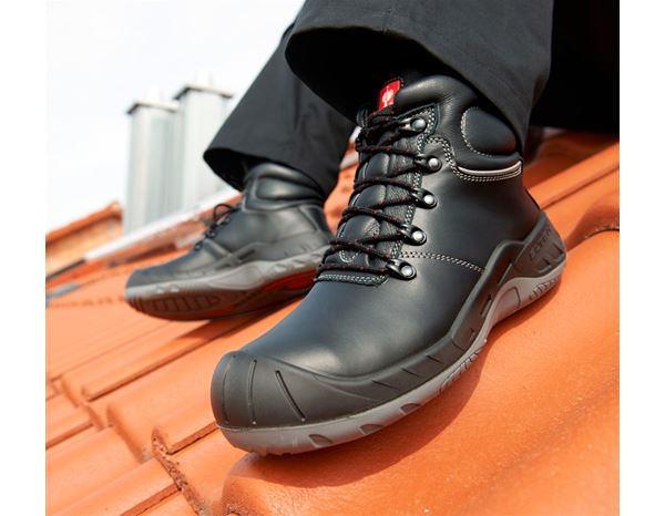 Safety Shoes S3: Elten S3 Roofer's- / Tarmac Safety boots Samuel  + black 1