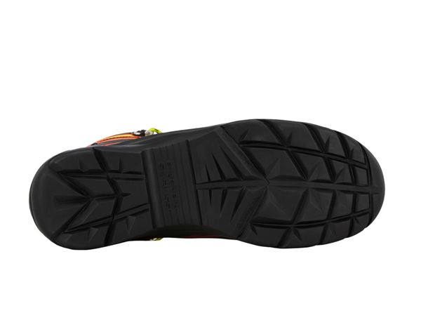 S3: e.s. S3 Safety shoes Kajam + black/high-vis orange/high-vis yellow 3