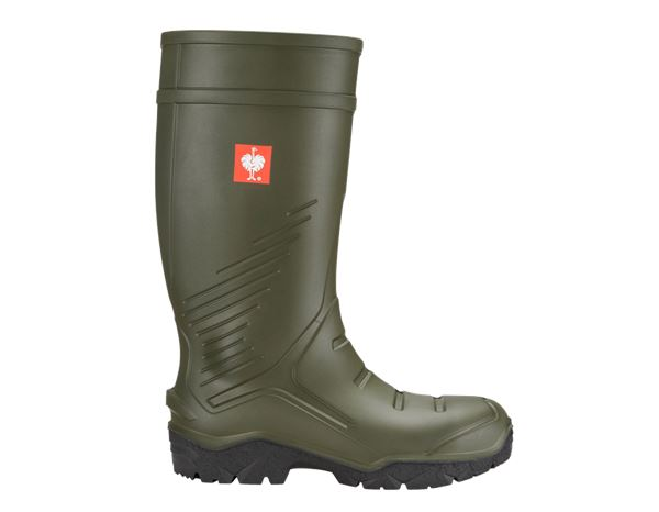 Safety Wellingtons S5: e.s. S5 Safety boots Lenus + thyme
