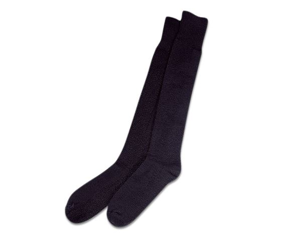 Socks: e.s. long Work Socks Nature x-warm/x-high + anthracite