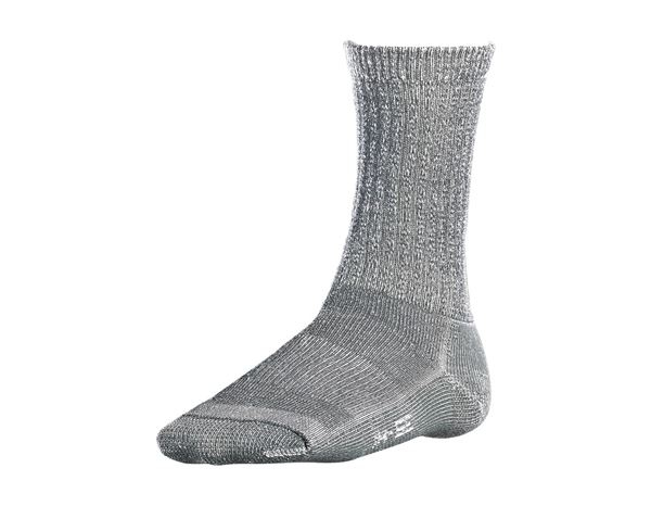 Socks: e.s. Merino socks Nature warm/high + titanium melange