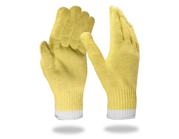 Textile: Aramid knitted gloves