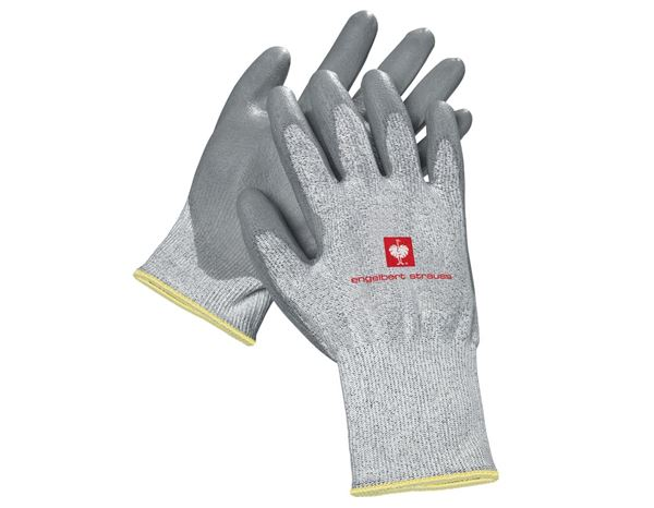 Coated: PU cut protection gloves, level 5