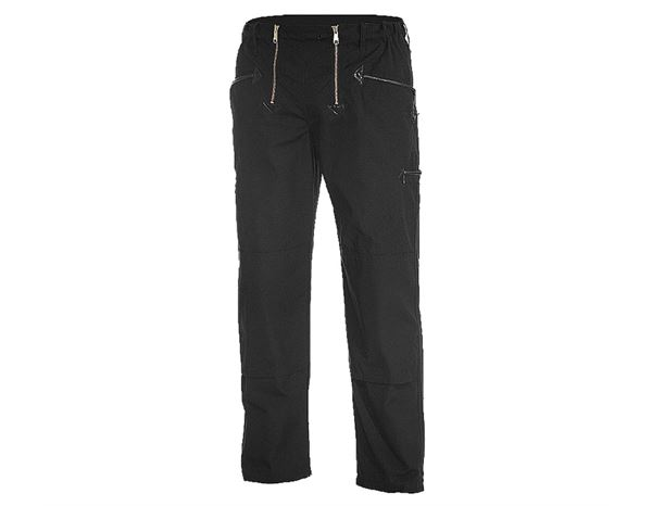 Guild Trousers: Craftman's Work Trousers Alois + black