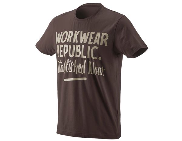 Shirts, Pullover & more: e.s. T-shirt workwear republic + chestnut/clay