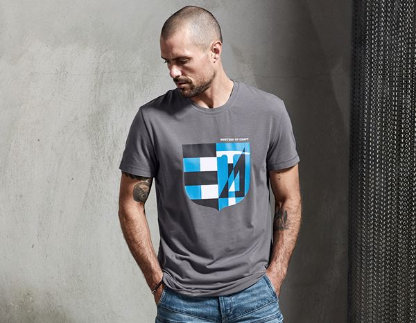 T-Shirts: e.s. T-shirt Masters of Craft + pewter