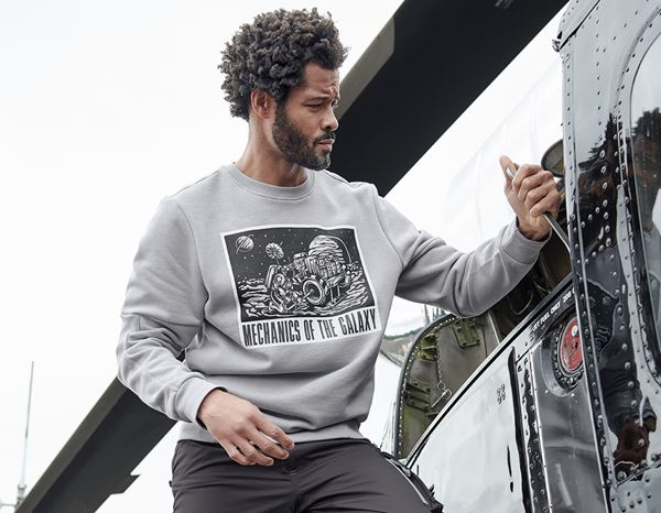 Shirts, Pullover & more: e.s. Sweatshirt Mission 2020 + platinum 1