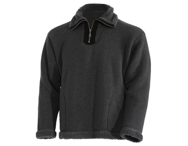 Pullover: Troyer Lars + anthracite