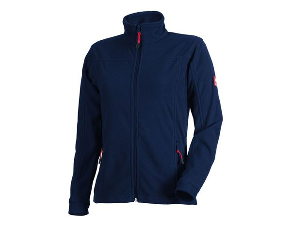 Work Jackets: Ladies' Fleece Jacket e.s.classic + navy