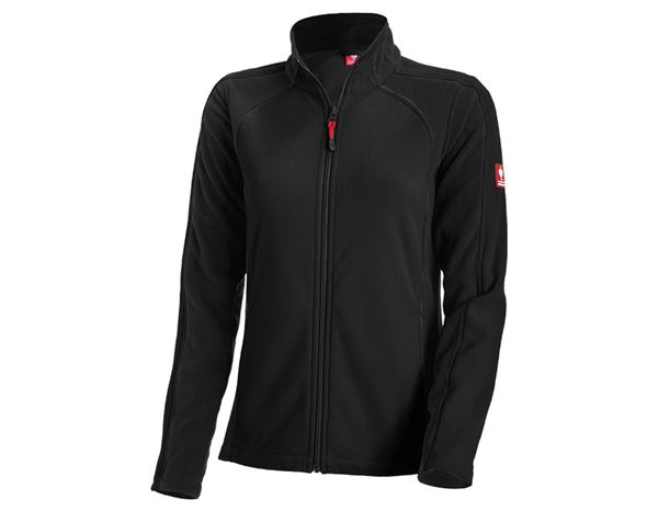 Work Jackets: Ladies' Microfleece jacket dryplexx® micro + black