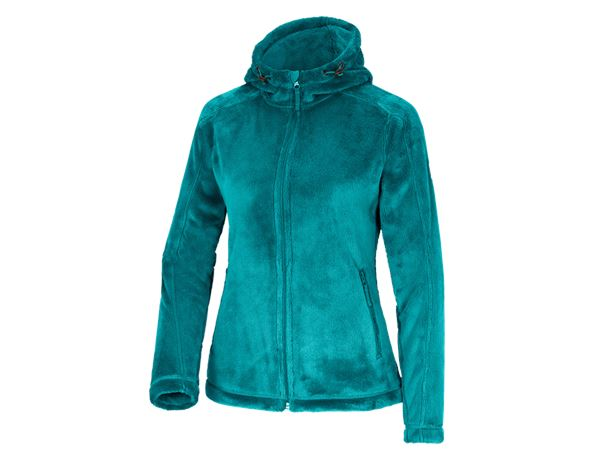 Work Jackets / Body Warmer: e.s. Zip jacket Highloft, ladies' + ocean