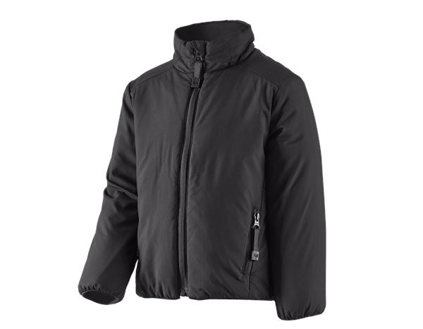 Jackets: e.s. Padded jacket CI, children's + black