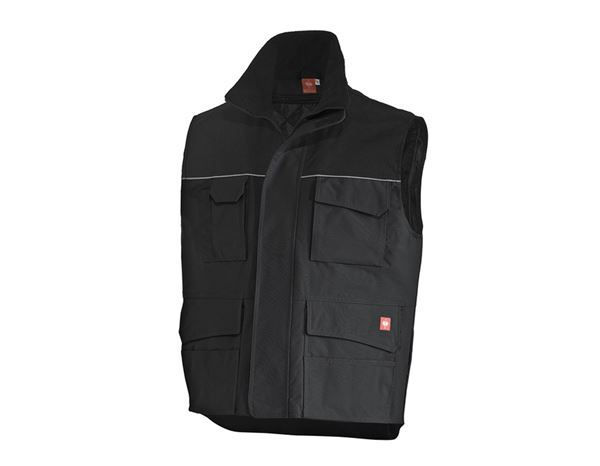 Work Body Warmer: Bodywarmer e.s.image  + black