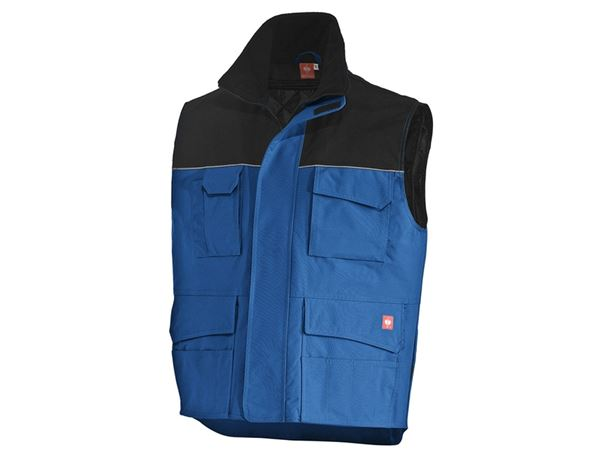 Work Body Warmer: Bodywarmer e.s.image  + royal/black