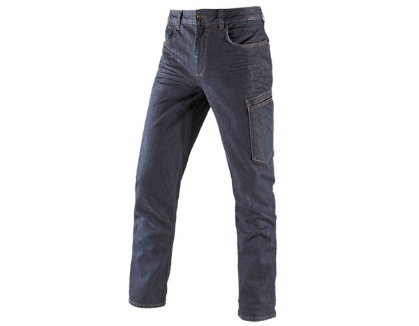 Work Trousers: e.s. 7-pocket jeans + darkdenim