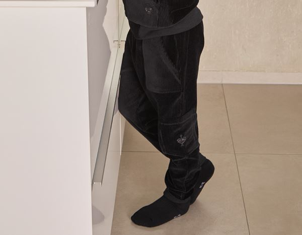 Accessories: e.s. Homewear cargo trousers, children's + black 1