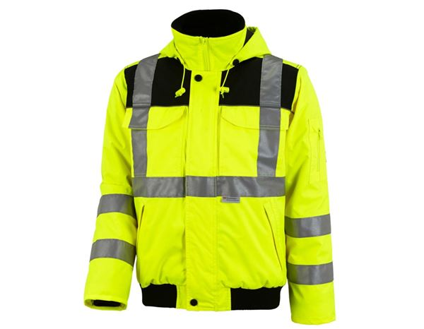 High-Vis Jackets: High-vis pilot jacket e.s.image + high-vis yellow